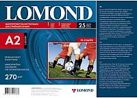 Фотобумага Lomond А2, 270 г/м, 25 л. / 1105200 (сатин) -