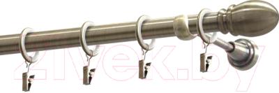 Карниз для штор Gardinia Пар D19 / 48-2020316 (320см, латунь)