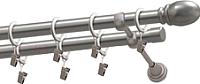 Карниз для штор Gardinia Пар 2хр D19 / 48-2029251 (160см, сатин) -
