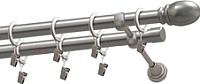 Карниз для штор Gardinia Пар2хр D19 / 48-2029253 (240см, сатин) -