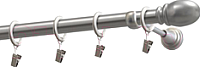 Карниз для штор Gardinia Пар D19 / 48-2029243 (200см, сатин) -
