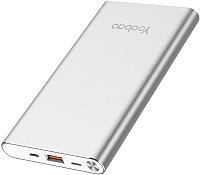 Портативное зарядное устройство Yoobao Air A1 (серебристый) -