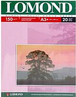 Фотобумага Lomond А3+, 150 г/м, 20 л. / 0102026 (глянцевая) -