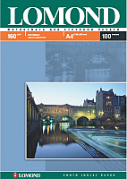 Фотобумага Lomond А4, 160 г/м, 100 л. / 0102005 (матовая) -