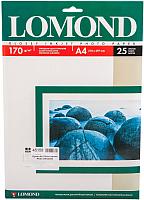 Фотобумага Lomond А4, 170 г/м, 25 л. / 0102143 (глянцевая) -