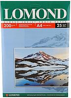 Фотобумага Lomond А4, 200 г/м, 25 л. / 0102046 (глянцевая) -