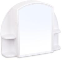 Шкаф с зеркалом для ванной Berossi Орион АС 11801000 (снежно-белый) -