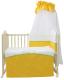 Комплект постельный в кроватку FAIRY Волшебная полянка 7 (желтый) -