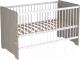 Детская кровать-трансформер Polini Kids Simple Nordic 140x70 (вязь) -