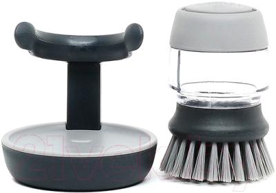 Щетка для мытья посуды Joseph Joseph Palm Scrub 85005 (серый)
