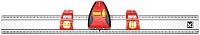 Линейка измерительная Kapro 814-60 (60см) -