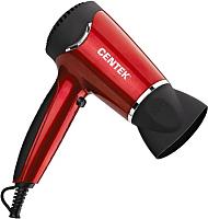 Профессиональный фен Centek CT-2215 (черный/красный) -