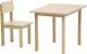 Комплект мебели с детским столом Polini Kids Simple 105 S (натуральный) -