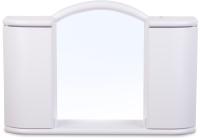 Шкаф с зеркалом для ванной Berossi Арго 7-20с АС 11901000 (снежно-белый) -