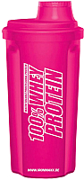 Шейкер спортивный IronMaxx I00003009 (700мл, розовый) -