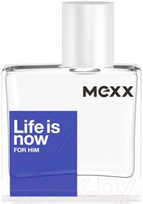 Туалетная вода Mexx Life is Now For Him mexx life is now for him туалетная вода 50мл