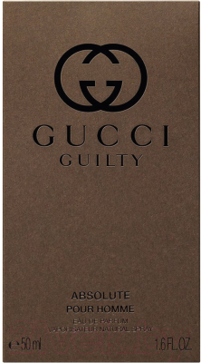 Парфюмерная вода Gucci Guilty Absolute Pour Homme (50мл)