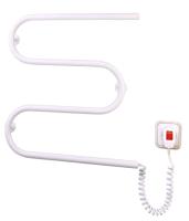 Полотенцесушитель электрический Элна Змейка-М 550х530 (белая) -