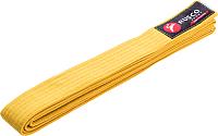 Пояс для кимоно RuscoSport 260см (желтый) -