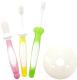 Набор зубных щеток для новорожденных Pigeon 6-18мес 10515/10541 (3шт) -