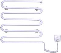 Полотенцесушитель электрический Элна Волна-8 55x42 (белый, правое подключение) -
