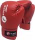 Боксерские перчатки RuscoSport 10oz (красный) -