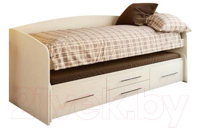 Двухъярусная выдвижная кровать детская Олмеко Адель-5