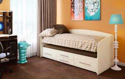 Двухъярусная кровать Олмеко Адель-5 (дуб линдберг)