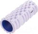 Валик для фитнеса массажный Starfit FA-503 (140x330мм, белый/синий) -
