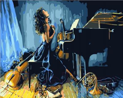 Картина по номерам Picasso Энергия музыки (PC4050324)