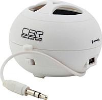 Портативная колонка CBR CMS-100 (белый) -