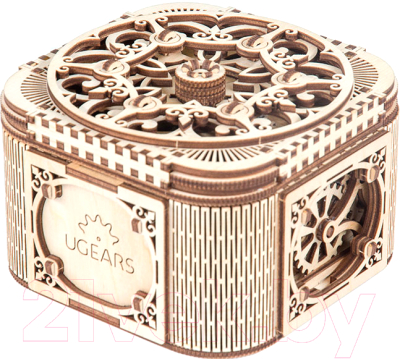 Сборная модель Ugears Шкатулка с секретом / 70031
