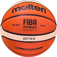 Баскетбольный мяч Molten BGF5X FIBA (размер 5) -