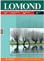Фотобумага Lomond А4, 210 г/м, 25 л. / 0102047 (глянцевая/матовая двусторонняя) -