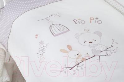 Комплект постельный в кроватку Perina Пио Пио / ПП3-01.2