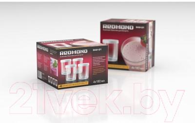 Набор баночек для йогуртницы Redmond RAM-G1