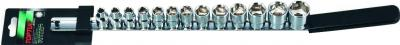 Набор головок слесарных Toptul GAAQ1308 (13 предметов) - общий вид
