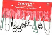 Набор съемников Toptul JGAA2001 (20 предметов) -