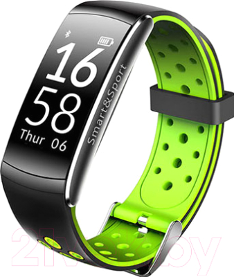 Фитнес-трекер SOVO SE12 (черный/зеленый)