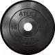 Диск для штанги MB Barbell Atlet d26мм 15кг (черный) -