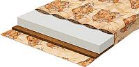 Матрас в кроватку Boom Baby Гречка-Кокос 60x120 (бязь) -