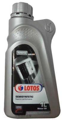 Моторное масло Lotos Semisyntetic SL/CF 10w40 / LBSEMI/1.TC (1л)