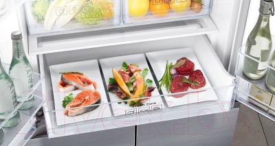 Холодильник с морозильником Samsung RF50K5961DP