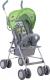 Детская прогулочная коляска Lorelli Trek Green Grey Car / 10020881714 -