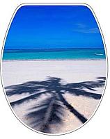 Сиденье для унитаза Bisk Snail Foto 04504 (пальма) -
