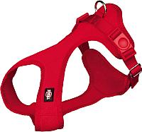 Шлея Trixie Soft harness 16243 (XXS/XS, красный) -