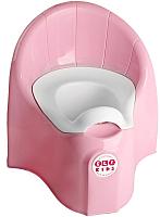 Детский горшок Эльфпласт Junior 316 (розовый перламутр) -