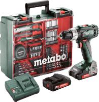 Профессиональная дрель-шуруповерт Metabo BS 18 L Set New (602321870) -