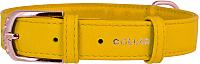 Ошейник Collar Glamour 32568 (желтый) -