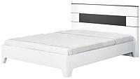 Каркас кровати Мебель-Неман Верона МН-024-01М (белый глянец) -